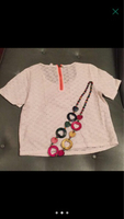 Used Branded top + bead necklaces size M in Dubai, UAE
