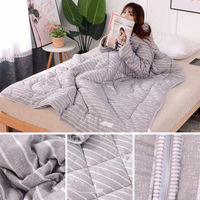 Used Wearable blanket quilt Queen size New in Dubai, UAE