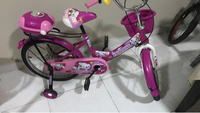 Used Bicycle for girls never used  in Dubai, UAE