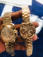 Used MK COUPLES WATCH ROSEGOLD WITH BOX in Dubai, UAE