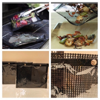 Used BBQ mesh grill bags 2 pieces  in Dubai, UAE