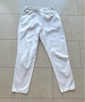Used ZARA White Trousers with Tie Size S in Dubai, UAE