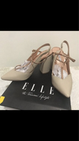 Used Used once block pointed shoes in Dubai, UAE