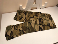Plus size camouflage pants