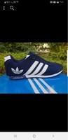 Used OFFER ADDIDAS blue UNISEX SHOES 36 to 40 in Dubai, UAE