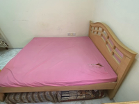 Used Double bed without mattress  in Dubai, UAE