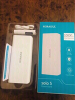 Used Romoss White Power Bank 10000mAh💙 in Dubai, UAE