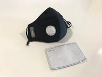Used NEW 2Pcs + 5Filters Dust & Anti Fog Mask in Dubai, UAE