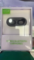 Used QYC wireless earbuds with charging case  in Dubai, UAE