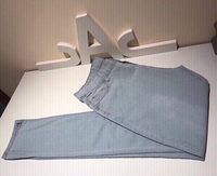Used Light blue Stretch jeans L in Dubai, UAE