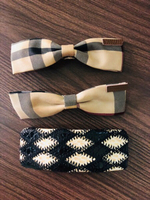 Burberry hair accessories