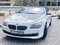 Used White convertible BMW 650i in Dubai, UAE