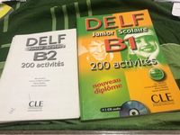 Used Delf B1+B2 Books with activities booklet in Dubai, UAE