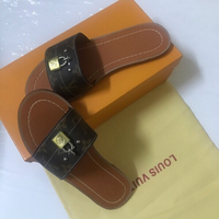 Used Louis Vuitton slippers size 37 in Dubai, UAE