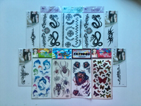Used Temporary body tattoos NEW in Dubai, UAE