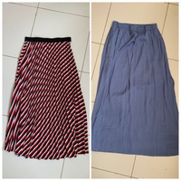 Used 2 long skirts in Dubai, UAE