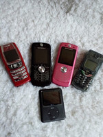 Used Old Mobiles(4pcs) and Ipod 1pc(dead) in Dubai, UAE