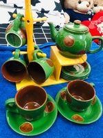 Used Flora Singapore Tea Set in Dubai, UAE