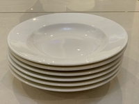 Used New 6 Pcs 7 inch Soup Plates for sale  in Dubai, UAE