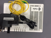 Network router fiber optics