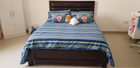 Used Queen Bed with mattress  in Dubai, UAE