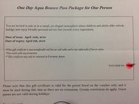Used Fairmont Ajman gift voucher in Dubai, UAE