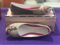 Used Goby Flat Leatherette Shoes/39 in Dubai, UAE