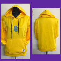 Used Yellow Hoodie/ L in Dubai, UAE