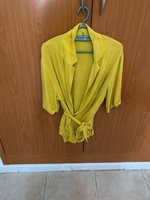 Used Yellow shirt from Bersheka  in Dubai, UAE