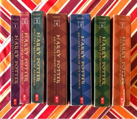 Used A bundle of The Harry Potter Series 1-7 in Dubai, UAE