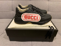 Used New Authentic Gucci Rython sneakers s43 in Dubai, UAE