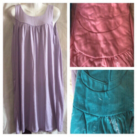 New dresses Lila/pink/turquoise size M