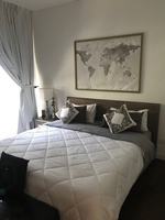 Used Queen sized bed set  in Dubai, UAE