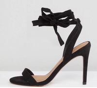 Used ASOS - suede heels size Uk6 - new in Dubai, UAE