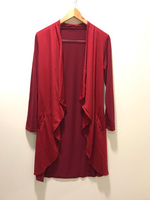 NEW Wine Red Dress Size M Length 100cm