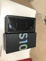Used Samsung s10 128 GB with box single sim  in Dubai, UAE