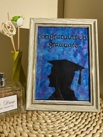 Used Art gift for graduation boy or girl hand in Dubai, UAE
