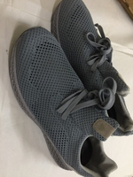 Used Breathable comfort Trend Sneakers grey  in Dubai, UAE