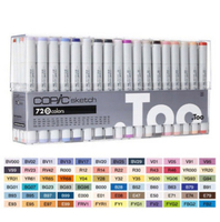 Used Copic sketch markers 72D set in Dubai, UAE