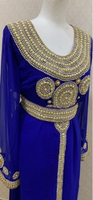 Used royal blue fancy maghrabi dress in Dubai, UAE