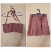 Used NEW Skirt Suit Set for Her 🌷SMALL  in Dubai, UAE