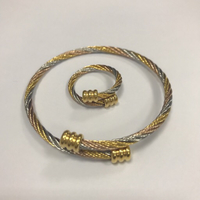 Used STAINLESS STEEL BANGLES AND RING in Dubai, UAE