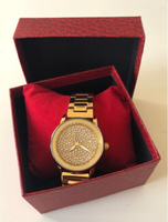 Used Gold/ Rhinestones Bee Sister Watch  in Dubai, UAE