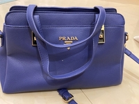 Used Prada blue handbag  in Dubai, UAE