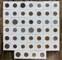 Used France - 46 old coins in Dubai, UAE