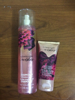 Used Shimmer body spray and body cream in Dubai, UAE