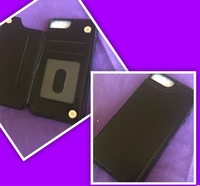 Used 2 pcs Magnetic Wallet IPhone 7 & 8 Case in Dubai, UAE