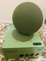 Portable bluetooth speaker westar green