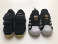 Used Lacoste + Adidas Superstar Kids Shoes in Dubai, UAE