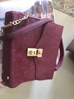 Used Burgandy bag  in Dubai, UAE